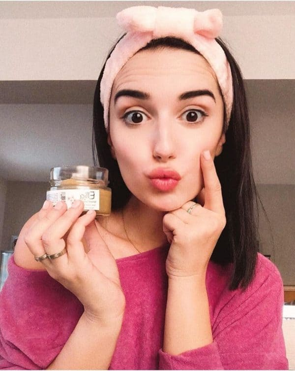 Face Scrub Mask with olive oil 3 - Ellia Natural Cosmetics - Cyprus Europe